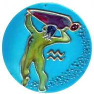 KR_AQU_SML Zodiac - Aquarius Sign (Small)