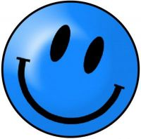KR_SMI_BLU_MED Smiley Blue (Medium)