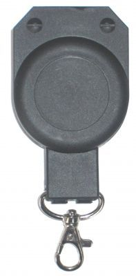 KR_HD04 Heavy Duty Keyreel with belt clip and Snap Hook Attachment