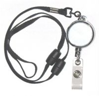 KR_LYD04_BS Heavy Duty Retractable Lanyard with dual Quick Release breakaways including PVC Badge Strap.