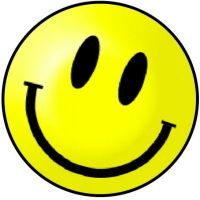 KR_SMI_YEL_SML Yellow Smiley (Small)